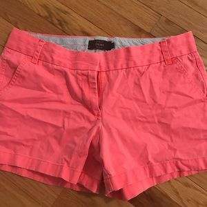 J crew Chino Cute pink shorts